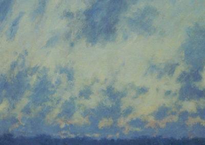 At Sea, Dawn Passing Clouds