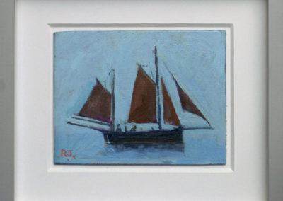Lug Sail Fishing Boat