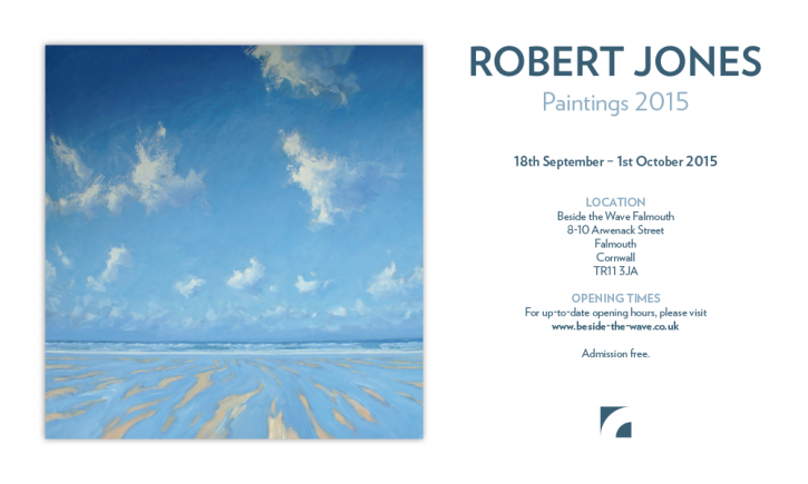 Paintings 2015 at Beside the Wave Gallery in Falmouth