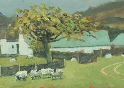 Sheep Farm and Cherry Tree, Appin I