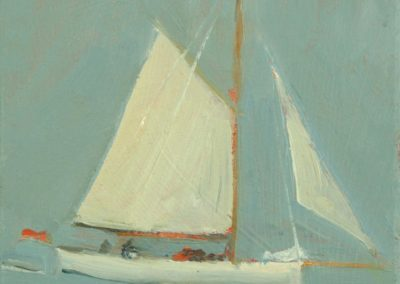 Yacht in the Bay, Cawsand
