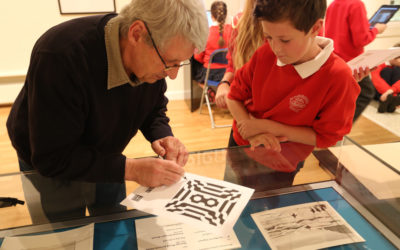 Elements of Pattern on display at Falmouth Art Gallery