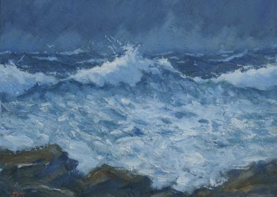 Sea Study, Rocky Shore II