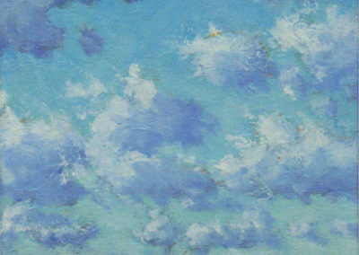 Sea & Clouds, North West Wind