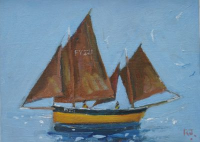 Our Boys Fowey Lugger FY221