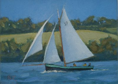 Sailing on the Fal